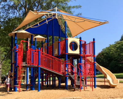 Gower playground equipment
