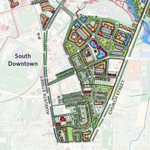 The South Downtown Planning Area
